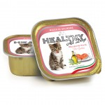 Healthy All Days Kitten 100g. łosoś - mokra karma dla kociąt