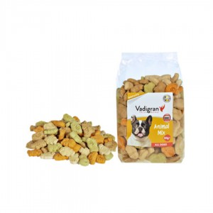 Vadigran Dog Snack Biscuits Animal Mix 500gr - ciastka dla psa pieczone w piecu