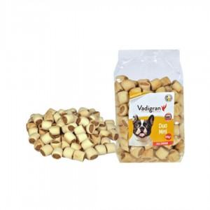 Vadigran Dog Snack Biscuits Duo Mini 500gr - ciastka dla psa pieczone w piecu
