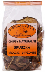Herbal Pets Chipsy Gruszka 75 g