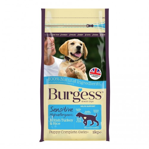 Burgess Sensitive Puppy Indyk z Ryżem.jpg